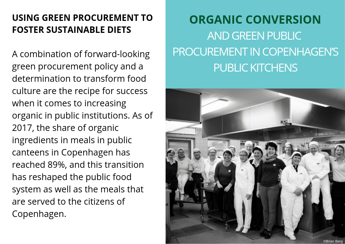 Initiative 'Organic on every table'