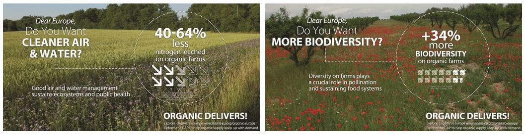 IFOAM EU biodiversity and water infographic