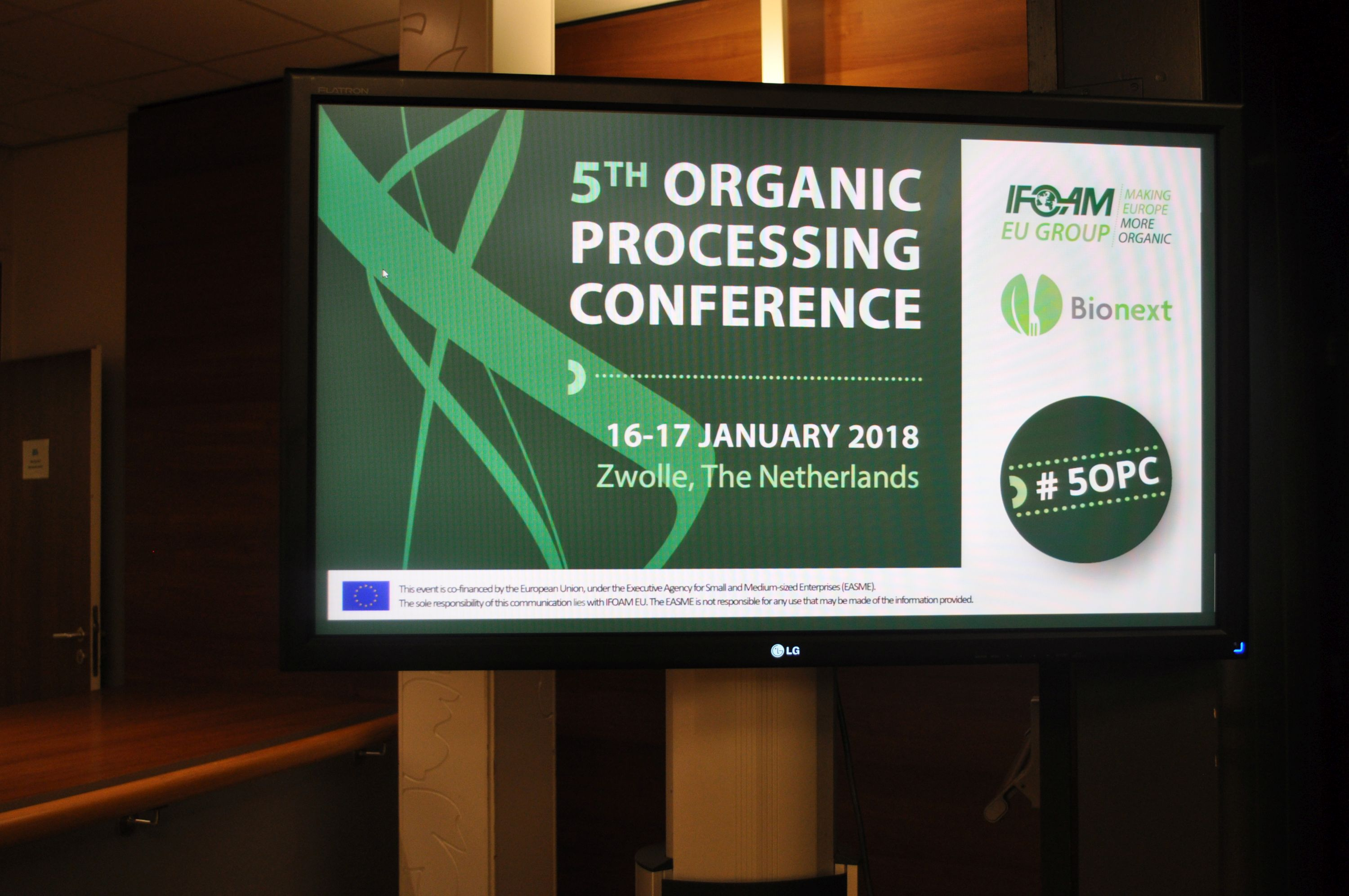 IFOAM EU 5th Organic Processing Conference