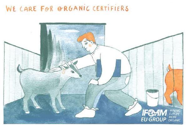 Membership postcard organic certifiers