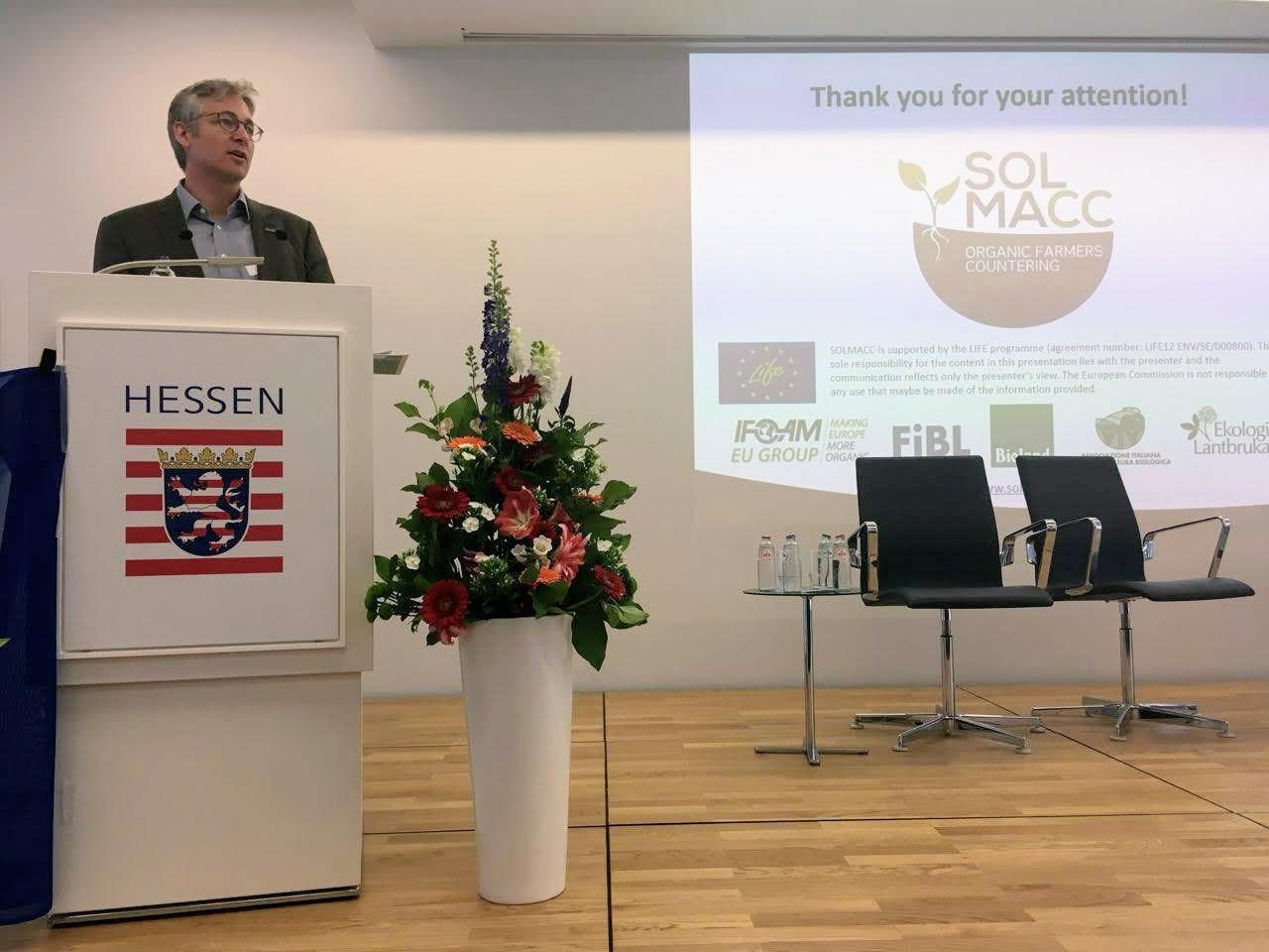 IFOAM EU SOLMACC final event
