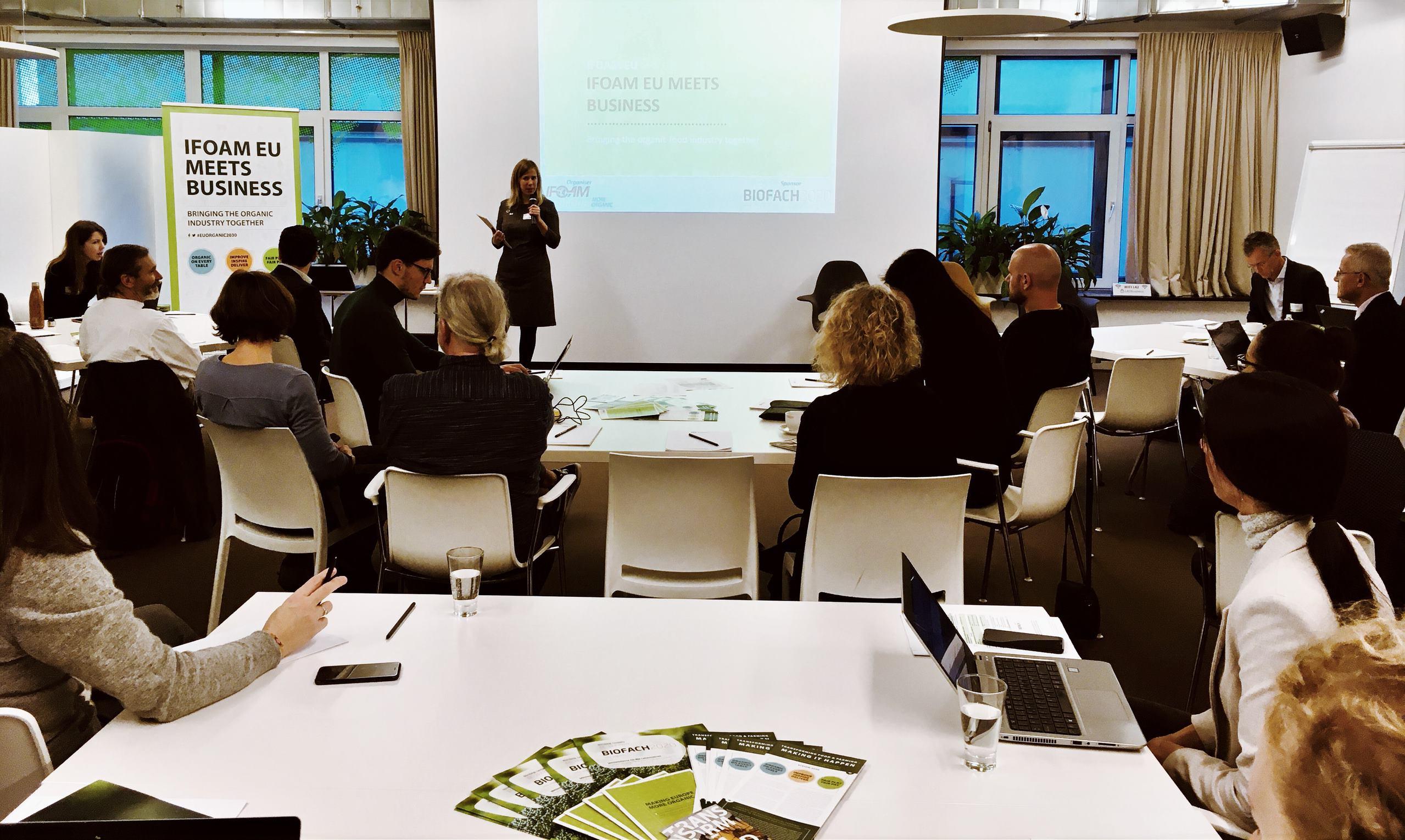 IFOAM EU Meets Business