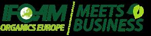 IFOAM Organics Europe meets business 2020 logo